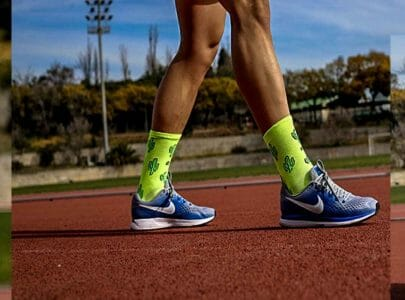 calcetines divertidos para competir en running