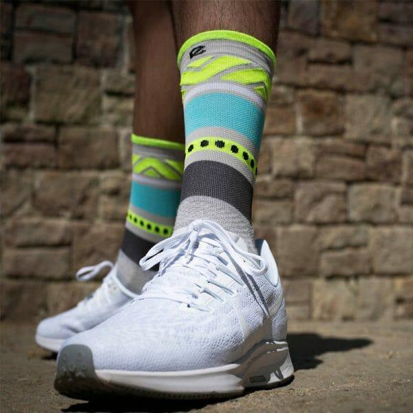 calcetines fluor running
