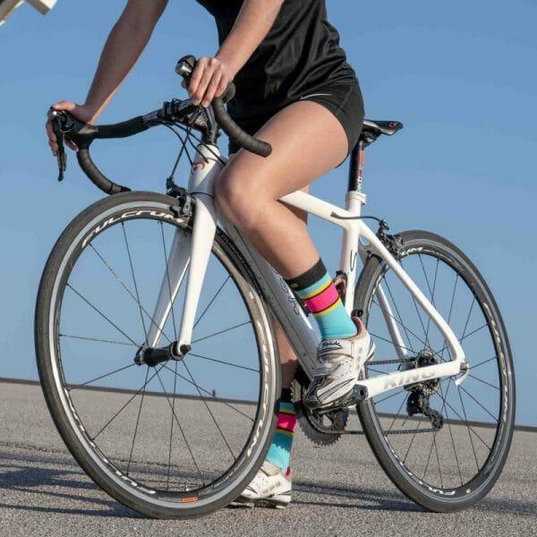 calcetines ciclismo coloridos