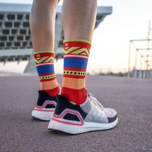 calcetines rojos antiampollas