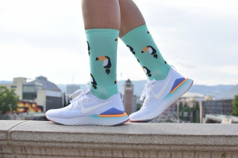 calcetines originales para correr