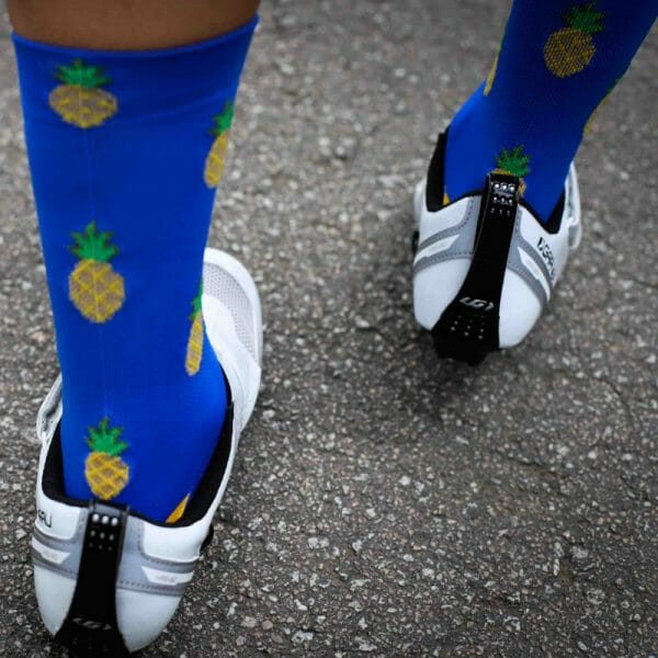 calcetines ciclismo piñas