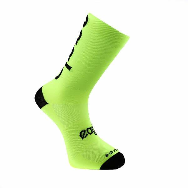 calcetines deportivos hombre mensaje