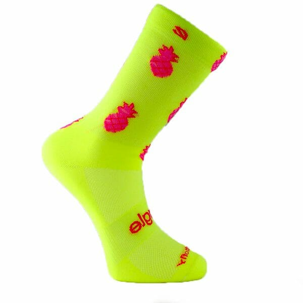 calcetines ciclismo colores fluor