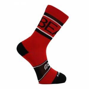 calcetines crossfit altos rojos