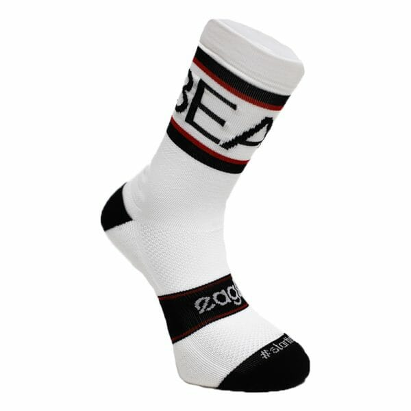 Calcetines para crossfit blancos altos