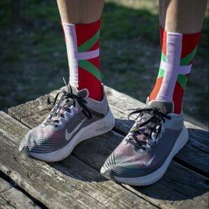 calcetines running ikurriña
