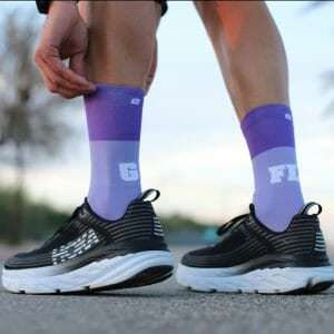 calcetines originales violeta