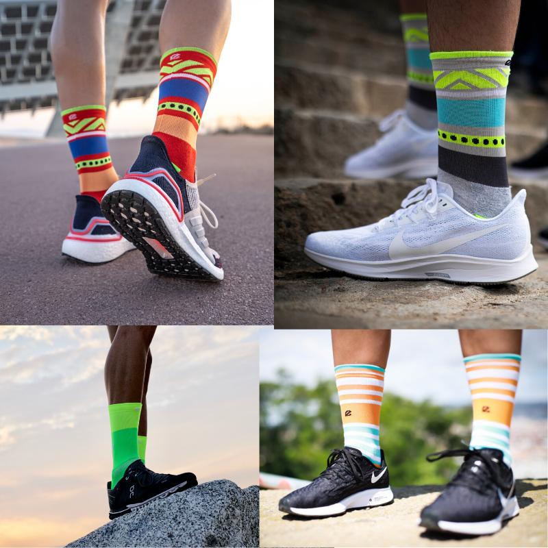 como doblar calcetines de running
