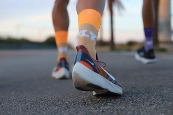 calcetines naranja