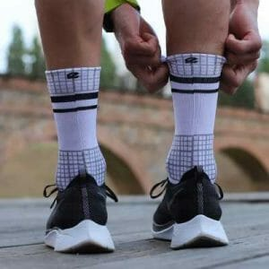calcetines blancos run