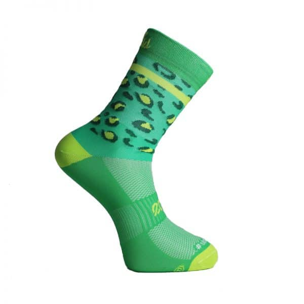 calcetines animal print verdes