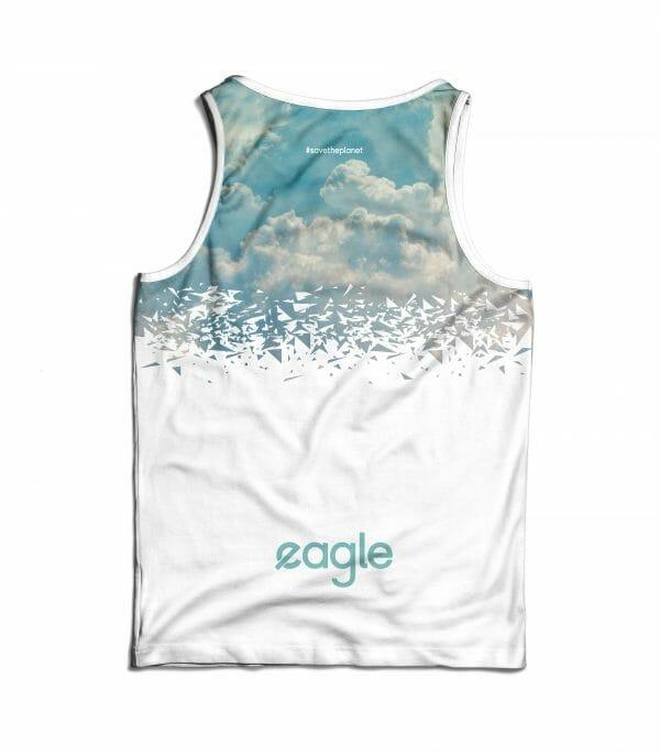 camiseta running aire