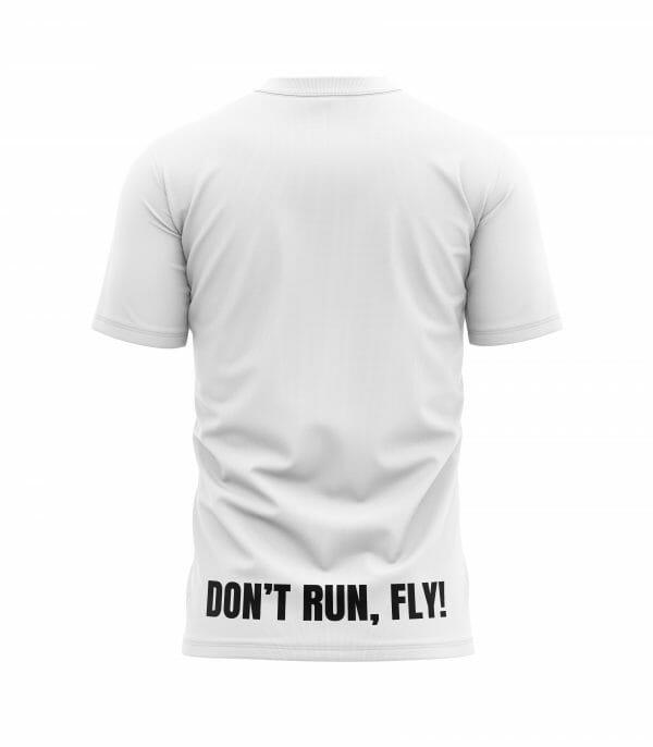 camiseta dont run fly