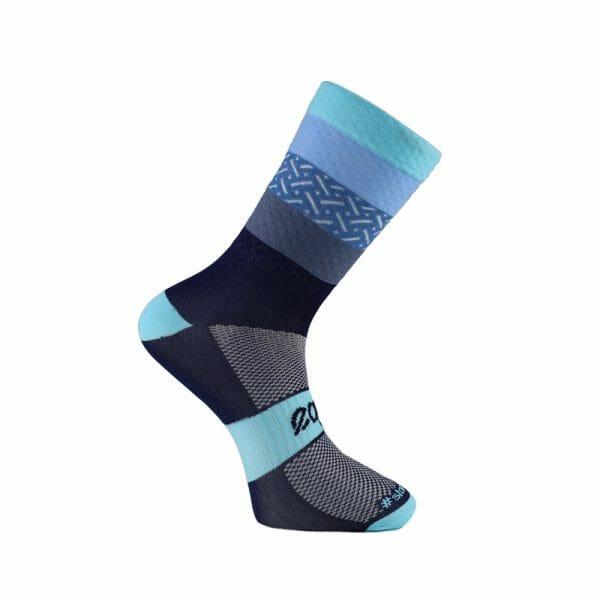 calcetines elegantes azules