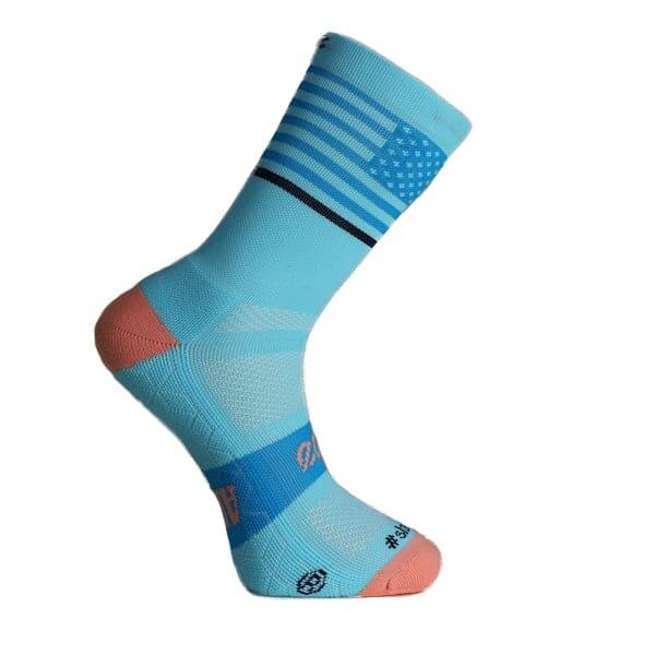 calcetines azules running