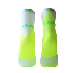 calcetines con mensaje fluor